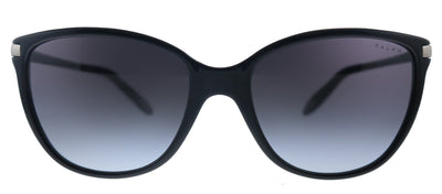 Ralph by Ralph Lauren RA 5160 501/11 Cat-Eye Plastic Black Sunglasses with Grey Gradient Lens