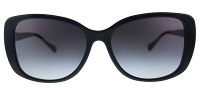 Ralph by Ralph Lauren RA 5223 13778G Rectangle Plastic Black Sunglasses with Grey Gradient Lens
