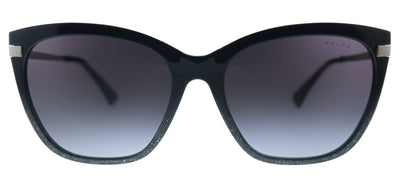 Ralph by Ralph Lauren RA 5267 58418G Butterfly Plastic Black Sunglasses with Grey Gradient Lens