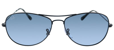 Ray-Ban RB 3562 006/BA Pilot Metal Black Sunglasses with Blue Polarized Lens