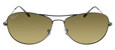 Ray-Ban RB 3562 029/BB Pilot Metal Gunmetal Sunglasses with Brown Polarized Lens