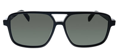 Saint Laurent SL 176 001 Square Plastic Black Sunglasses with Grey Lens