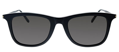 Saint Laurent SL 304 006 Square Plastic Black Sunglasses with Black Polarized Lens