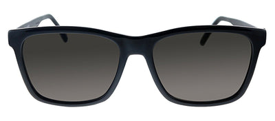 Saint Laurent SL 318 001 Rectangle Plastic Black Sunglasses with Black Lens