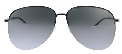 Saint Laurent SL Classic11Slim 003 Aviator Metal Silver Sunglasses with Silver Mirror Lens