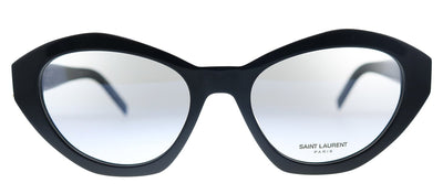 Saint Laurent SL M60 001 Cat-Eye Plastic Black Eyeglasses with Demo Lens