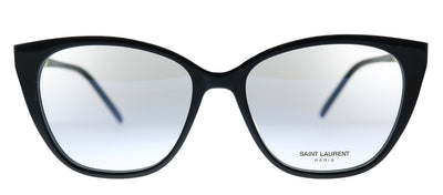 Saint Laurent SL M72 002 Cat-Eye Plastic Black Eyeglasses with Demo Lens