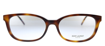 Saint Laurent SL M74/F 004 Rectangle Plastic Havana Eyeglasses with Demo Lens