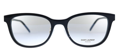 Saint Laurent SL M76/J 002 Rectangle Plastic Black Eyeglasses with Demo Lens