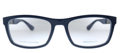 Tommy Hilfiger TH 1522 PJP Rectangle Plastic Blue Eyeglasses with Demo Lens