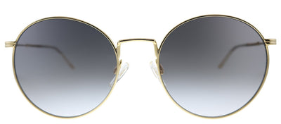 Tommy Hilfiger TH 1586/S 000 Oval Metal Rose Gold Sunglasses with Grey Gradient Lens