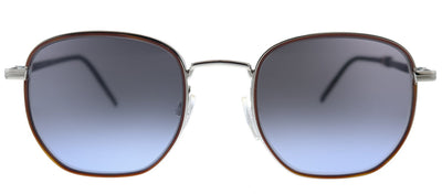 Tommy Hilfiger TH 1672/S 010 Rectangle Metal Palladium Sunglasses with Grey Gradient Lens