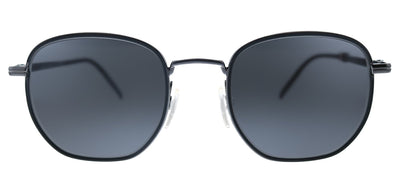 Tommy Hilfiger TH 1672/S V81 Rectangle Metal Dark Ruthenium Black Sunglasses with Grey Lens