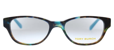 Tory Burch TY 2031 3153 Butterfly Plastic Havana Eyeglasses with Demo Lens
