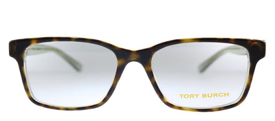 Tory Burch TY 2064 1561 Square Plastic Havana Eyeglasses with Demo Lens