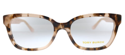 Tory Burch TY 2084 1726 Square Plastic Havana Eyeglasses with Demo Lens