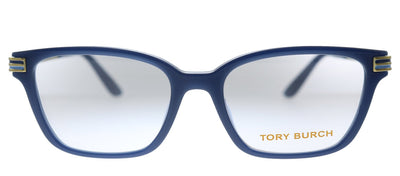 Tory Burch TY 4007U 1832 Rectangle Plastic Blue Eyeglasses with Demo Lens
