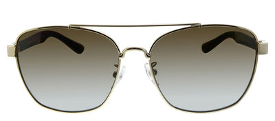 Tory Burch TY 6069 3272T5 Pilot Metal Gold Sunglasses with Brown Gradient Lens