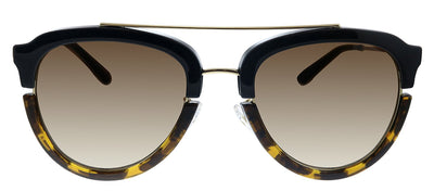 Tory Burch TY 6072 178413 Pilot Plastic Havana Sunglasses with Brown Gradient Lens
