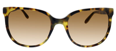 Tory Burch TY 7106 147413 Square Plastic Tortoise Sunglasses with Brown Gradient Lens