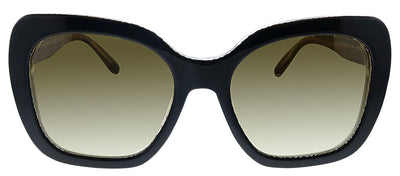 Tory Burch TY 7127 174013 Butterfly Plastic Black Sunglasses with Grey Gradient Lens
