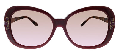 Tory Burch TY 7133U 138414 Cat-Eye Plastic Bordeaux Sunglasses with Pink Gradient Lens