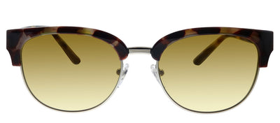 Tory Burch TY 9047 17292L Pilot Plastic Havana Sunglasses with Yellow Gradient Lens