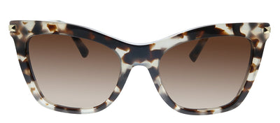 Valentino VA 4061 509713 Cat-Eye Plastic Beige Havana Sunglasses with Brown Gradient Lens