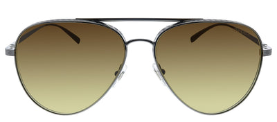 Versace VE 2217 100113 Pilot Metal Gunmetal Sunglasses with Brown Gradient Lens