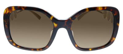 Versace VE 4375F 108/73 Butterfly Plastic Havana Sunglasses with Brown Lens