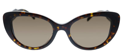 Versace VE 4378F 108/73 Cat-Eye Plastic Havana Sunglasses with Brown Lens