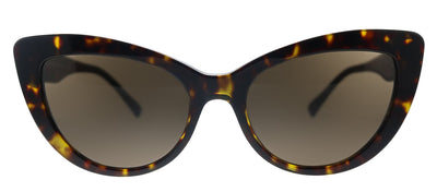 Versace VE 4388 108/73 Butterfly Plastic Havana Sunglasses with Brown Lens
