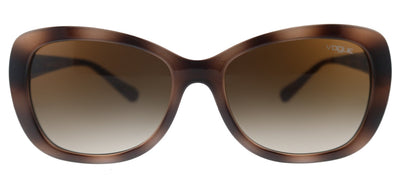 Vogue Eyewear VO 2943SB 270713 Butterfly Plastic Havana Sunglasses with Brown Gradient Lens
