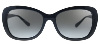 Vogue Eyewear VO 2943SB W44/11 Butterfly Plastic Black Sunglasses with Grey Gradient Lens