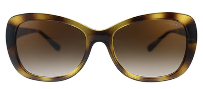 Vogue Eyewear VO 2943SB W65613 Butterfly Metal Havana Sunglasses with Brown Gradient Lens