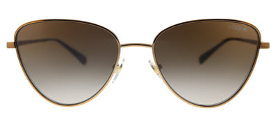 Vogue Eyewear VO 4145SB 507153 Aviator Metal Gold Sunglasses with Brown Gradient Lens