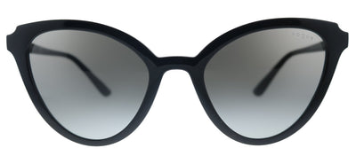 Vogue Eyewear VO 5294S W44/11 Cat-Eye Plastic Black Sunglasses with Grey Gradient Lens