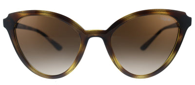 Vogue Eyewear VO 5294S W65613 Cat-Eye Plastic Havana Sunglasses with Brown Gradient Lens