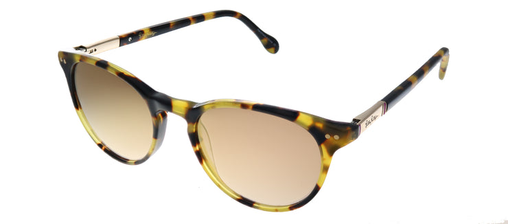 Lilly Pulitzer LP Palermo TO Round Plastic Tortoise/ Havana Sunglasses with Gold Mirror Lens