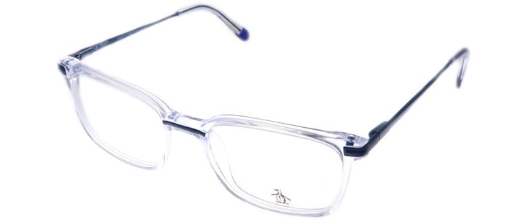 Original Penguin PE Danny CR Rectangle Plastic Clear Eyeglasses with Demo Lens