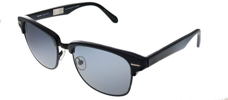 Original Penguin PE Highpockets P BK Square Plastic Black Sunglasses with Black Polarized Lens