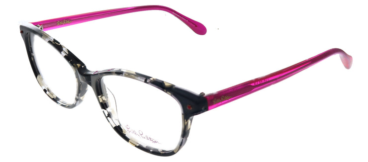 Lilly Pulitzer LP Brynn BT Cat-Eye Plastic Grey Eyeglasses with Demo Lens
