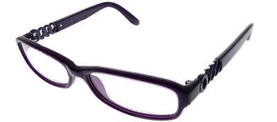 Marc by Marc Jacobs MMJ 542 AYA Rectangle Plastic Purple Eyeglasses with Demo Lens