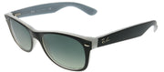 Ray-Ban RB 2132 630971 Wayfarer Plastic Black Sunglasses with Grey Gradient Lens
