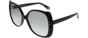 Gucci GG 0472S 001 Butterfly Plastic Black Sunglasses with Grey Gradient Lens