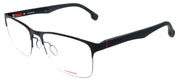 Carrera CA 8830/V 807 Rectangle Metal Black Eyeglasses with Demo Lens