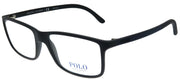 Polo Ralph Lauren PH 2126 5505 Rectangle Plastic Black Eyeglasses with Demo Lens