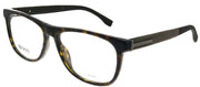 Hugo Boss BOSS 0985 086 Rectangular Plastic Tortoise/ Havana Eyeglasses with Demo Lens