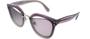 Miu Miu MU 03TS SRO6X1 Square Plastic Pink Sunglasses with Purple Lens