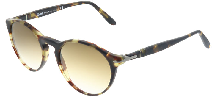 Persol PO 3092SM 900551 Round Plastic Tortoise/ Havana Sunglasses with Brown Gradient Lens